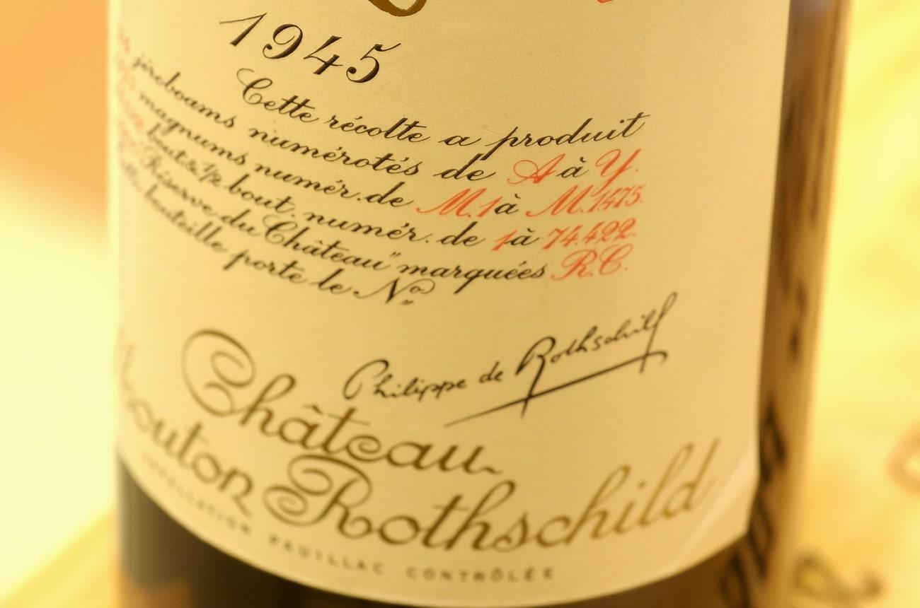 Anson: How legendary Mouton Rothschild 1945 tastes now