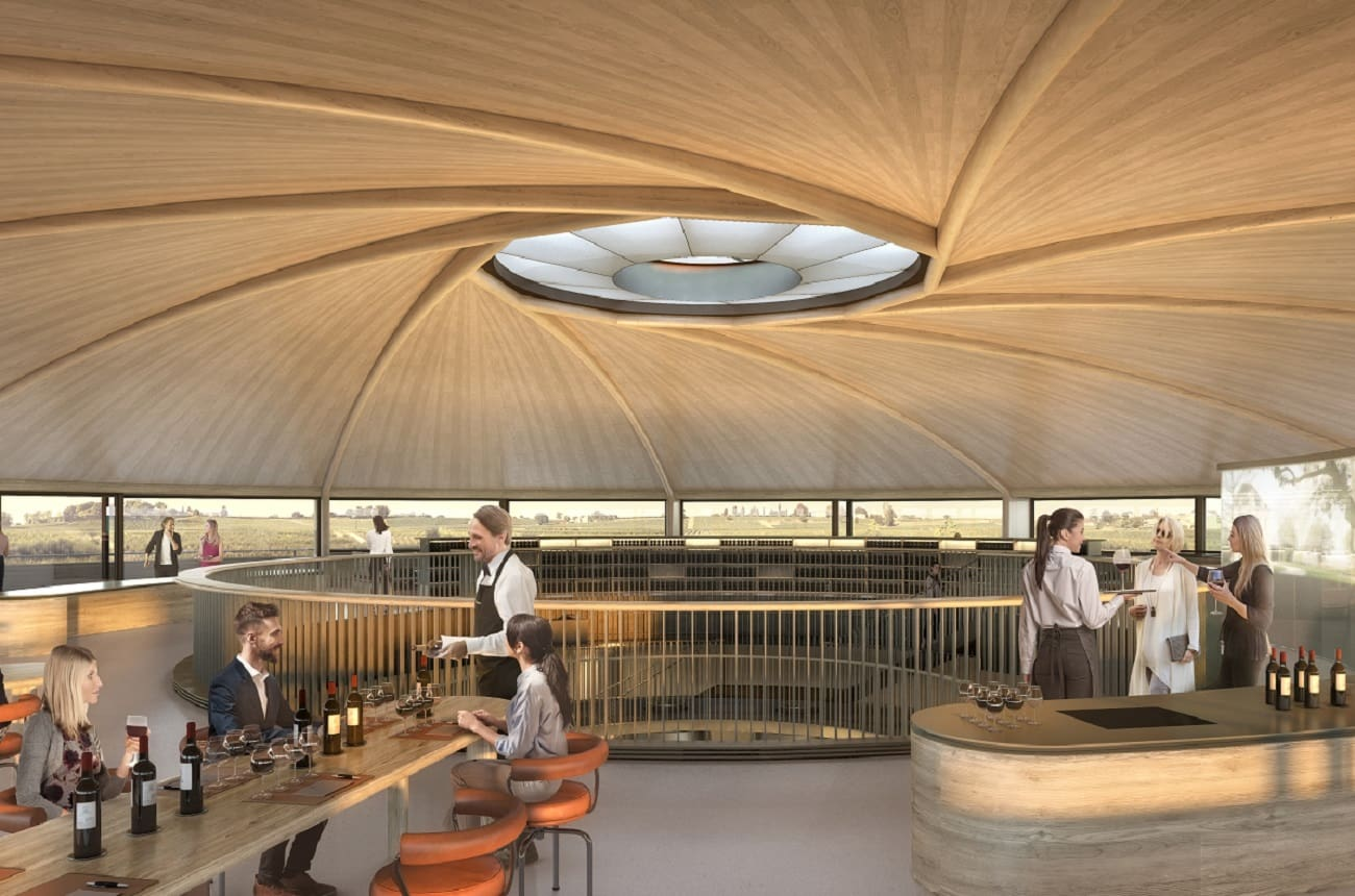 Lord Foster designs new St-Emilion winery for Le Dôme