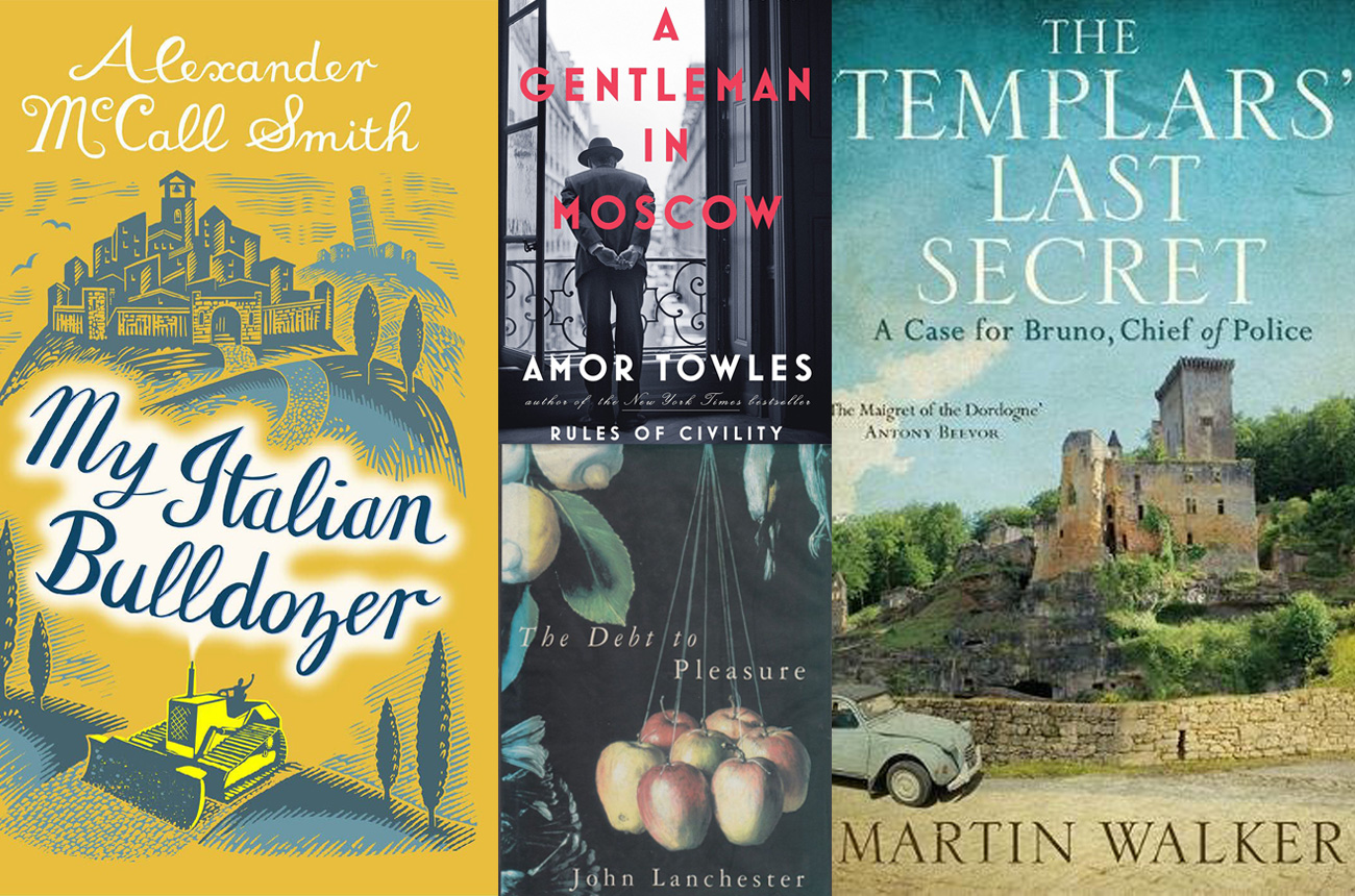 Anson: Great novels for wine lovers