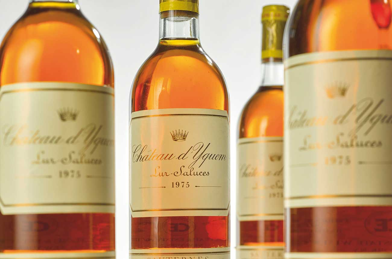 Rare whisky and Yquem 1975 lead Sotheby's online auctions
