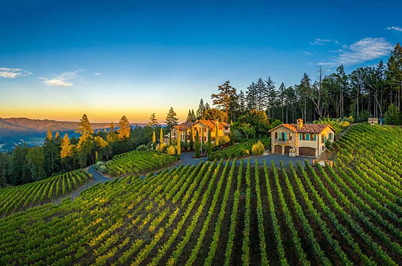 California dreaming: Three great-looking vineyard estates for sale