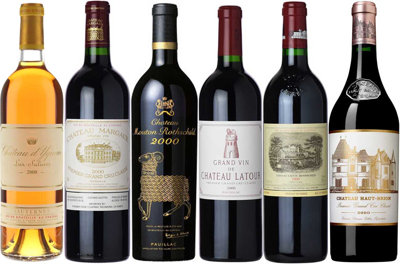 Bordeaux first growths: How the 2000 vintage tastes now