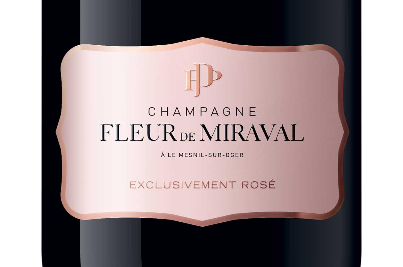 Brad Pitt and partners reveal rosé Champagne 'Fleur de Miraval'