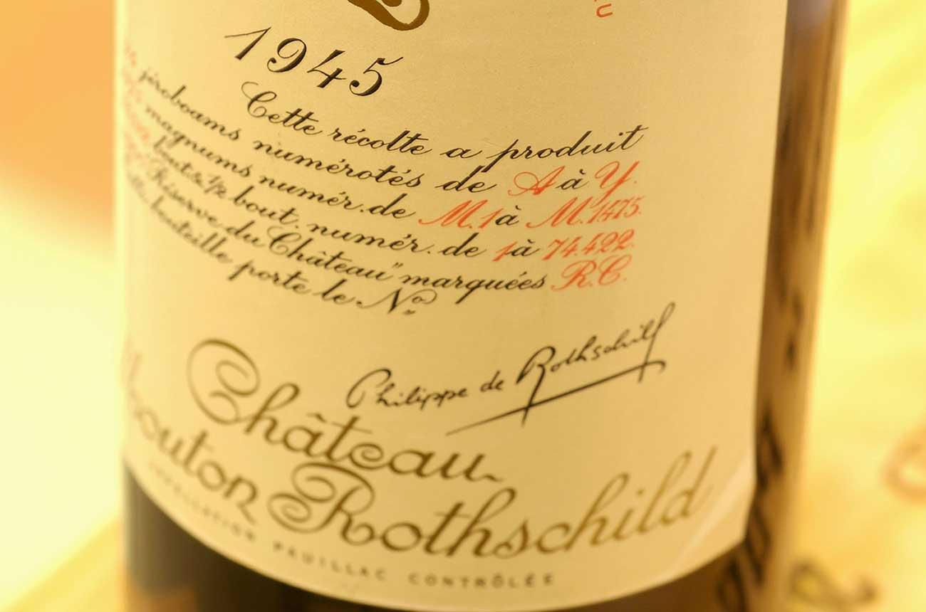 Petrus 1926, Mouton 1945 sold in Zachys Michelin restaurant auction