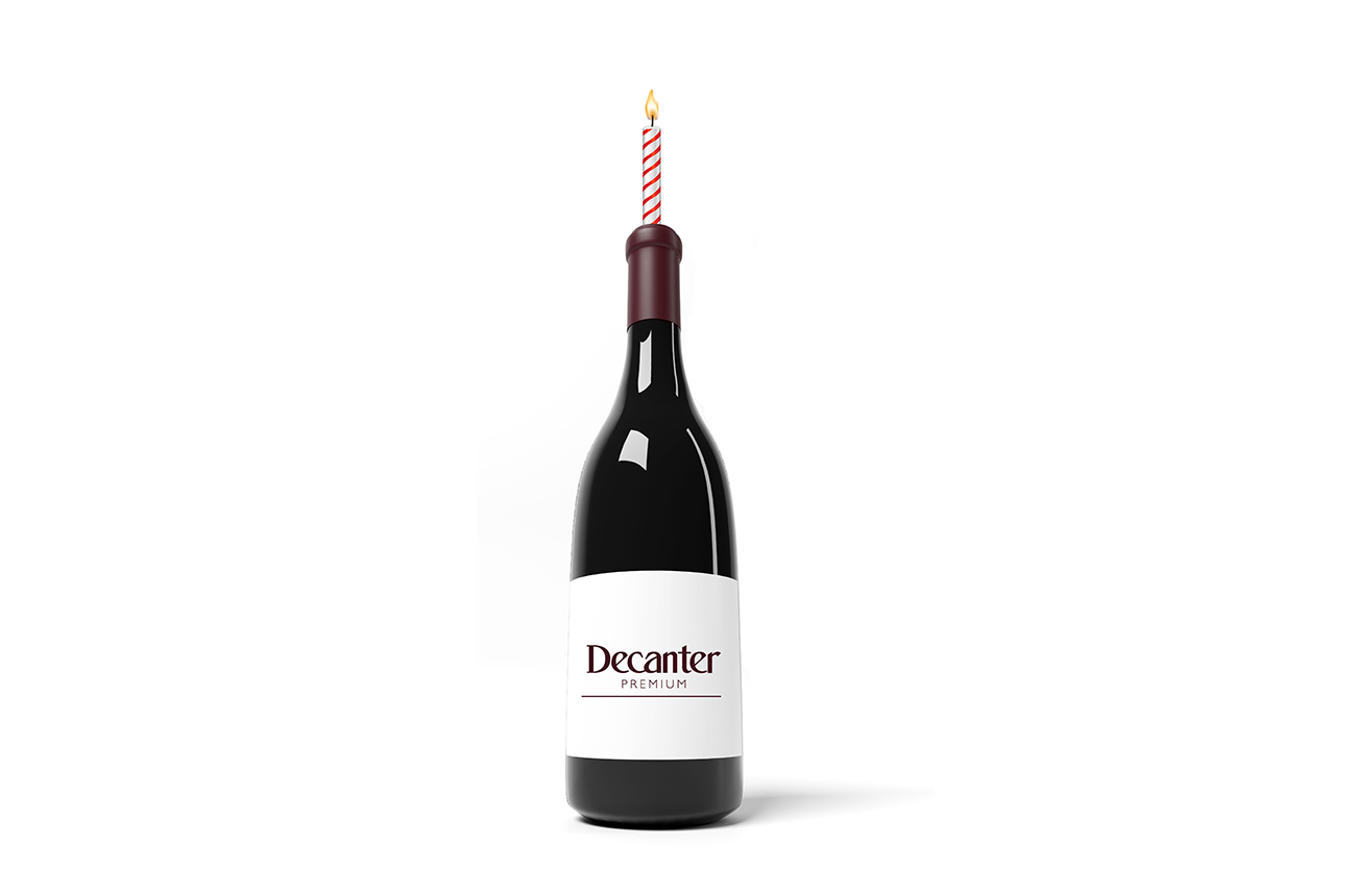 Decanter Premium turns three