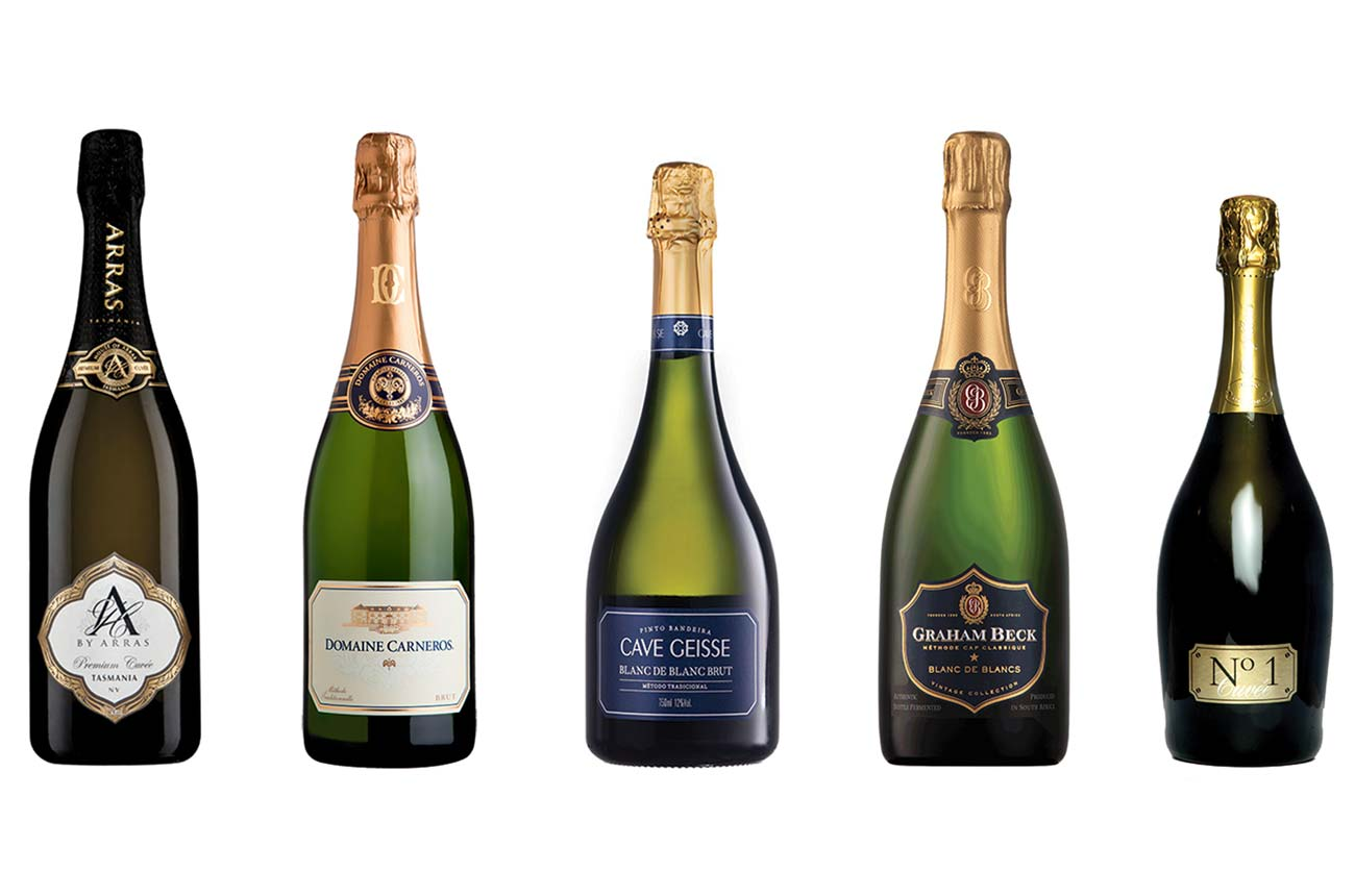 Expert's choice: New World sparkling wines