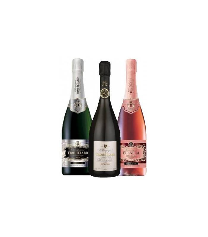 triade de champagne