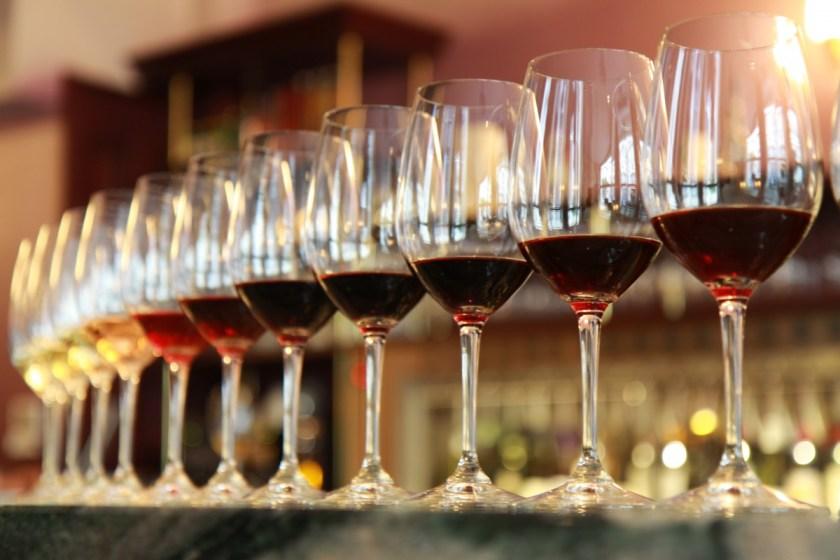 Wine full of colours
