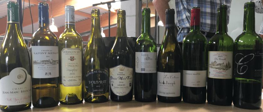 Concours de Bertrix : les 10 vins sélectionnés
