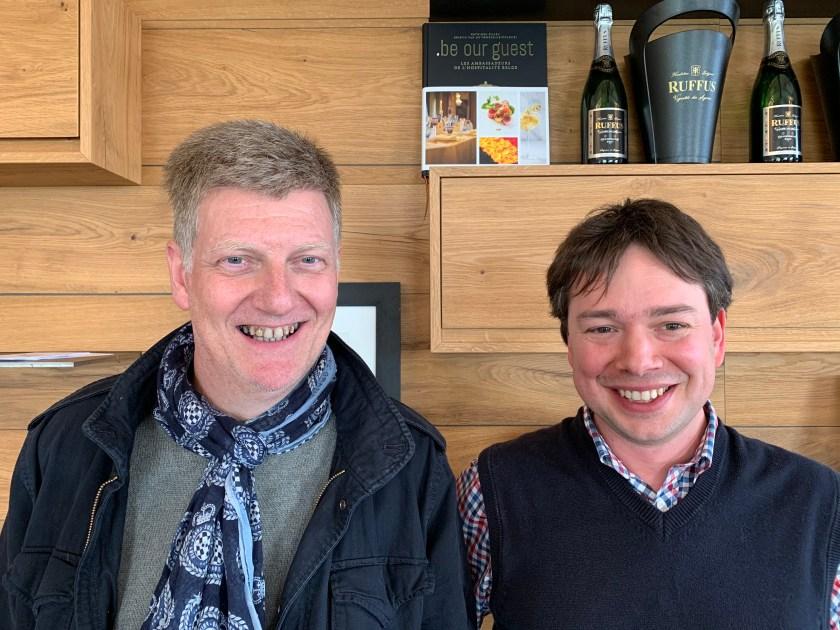 Bart De Corte & François-Xavier Barcena, champions de Belgique de dégustation de vin à l'aveugle 2019
