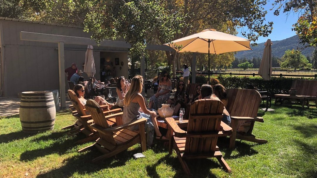 Outdoor Seated Tasting