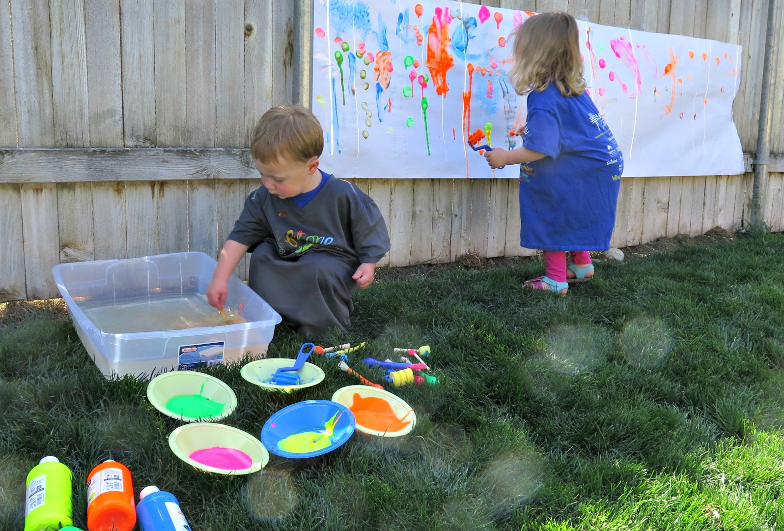 fence painting with kids archives wine workouts and