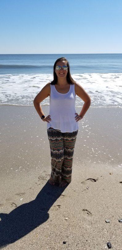 winey momma on the beach