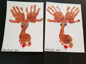 Painted Crafts for the Holidays