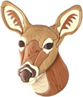Animals Doe Intarsia Project Pattern