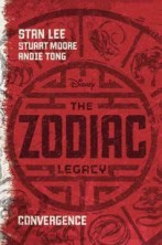 The Zodiac Legacy by Stan Lee -- Follows the experiences of a Chinese-American teen who is thrown into the middle of an epic global chase involving the release of twelve magical superpowers.
