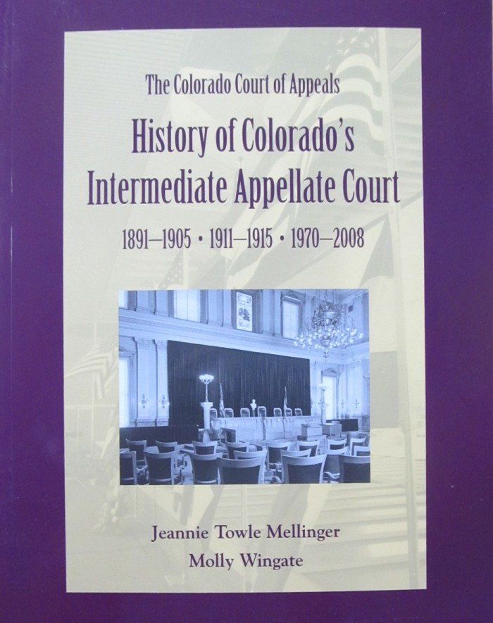 History of Colorado's Intermediate Appellate Court
