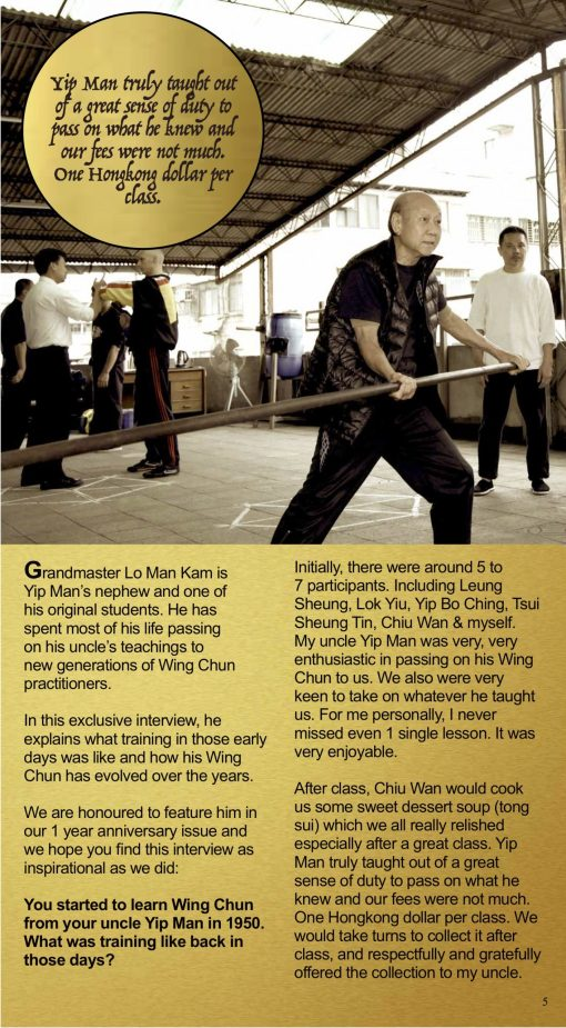 Wing Chun Origins Issue 5