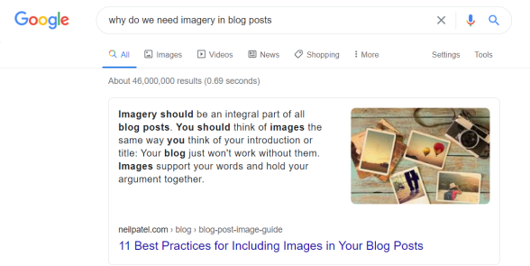Neil Patel - 11 Best Practices for Including Images in Your Blog Posts