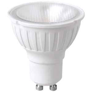 MEGAMAN LED SPOT 7 WATT/GU10NIET DIMBAAR 2800K 40° 500 Lm