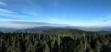 Eastern view from Clingmans Dome tower