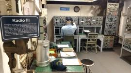 Radio III Room in USS Yorktown, Charleston, South Carolina