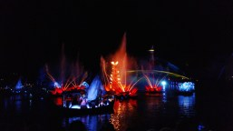 Evening water and lights spectacular show at Animal Kingdom, February 8, 2018