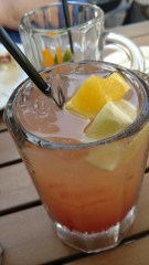 Fresh citrus in our rum punch drinks at Rumba Grill, Tampa, FL
