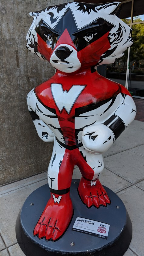 Bucky Badger Artwork - Superbuck