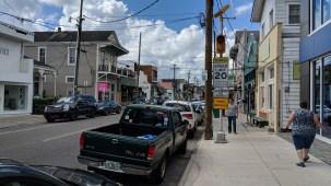 Walking along Magazine Street, New Orleans, LA