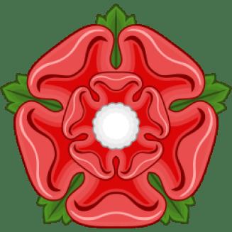 Red Rose Badge Of Lancaster