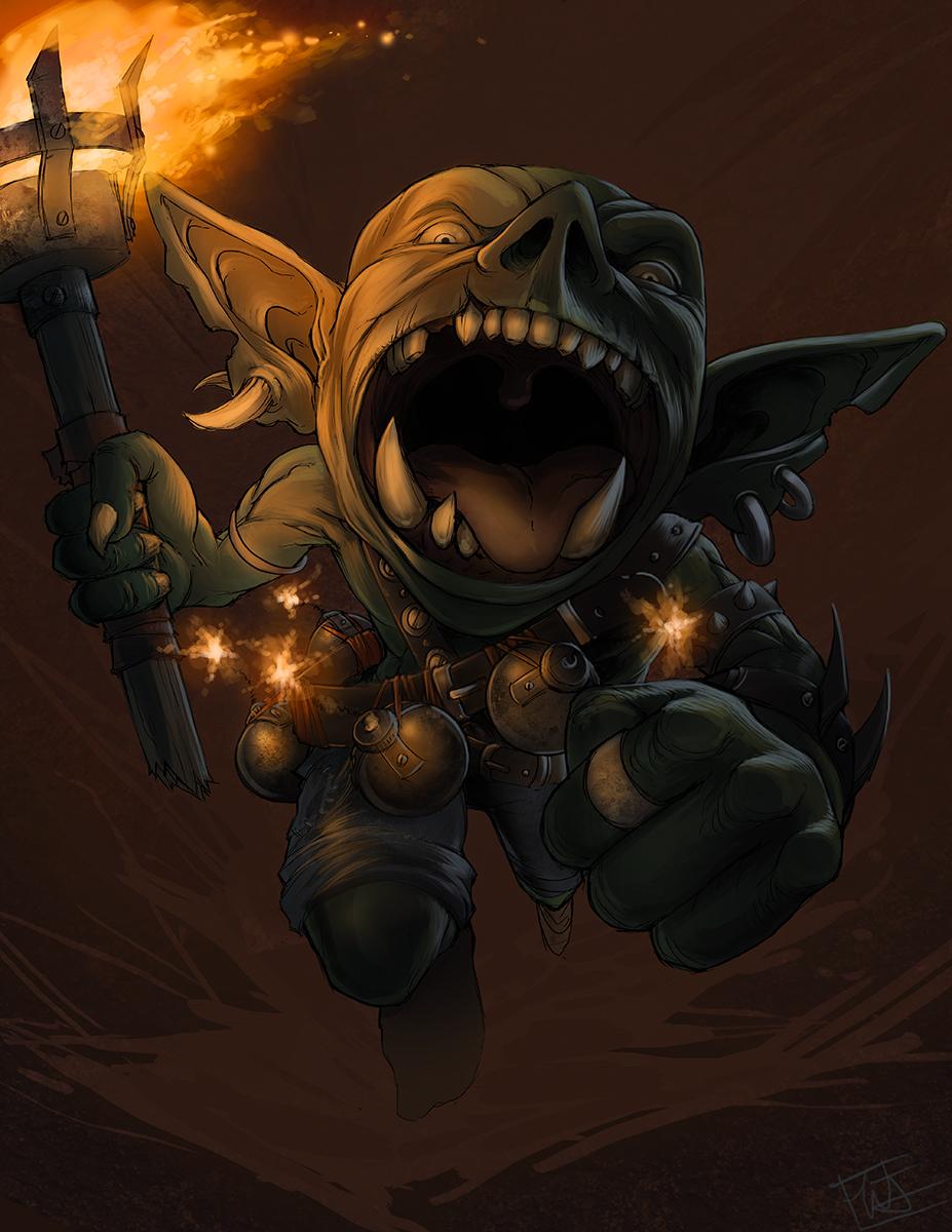 Character Craftroom Goblin Barbarian Winghorn Press