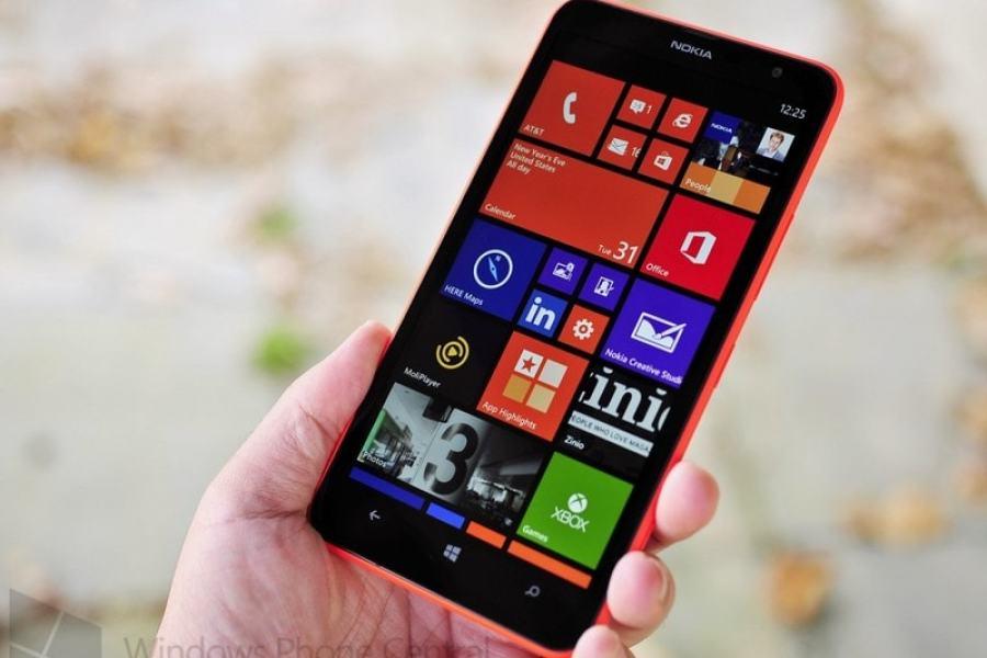 نوكيا lumia 1320 متاح فى الولايات المتحدة الأمريكية
