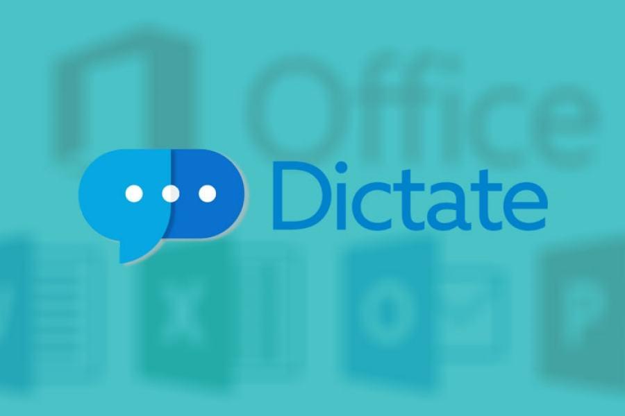 شرح اداة مايكروسوفت Dictate لتحويل الكلام الى نص مكتوب للأوفيس