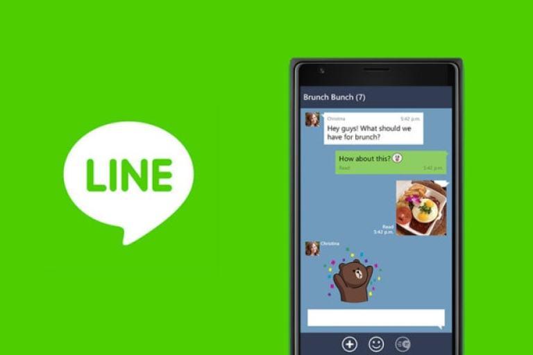 شرح برنامج لاين بالصور التسجيل line وتفعيل رقم الهاتف - line messenger