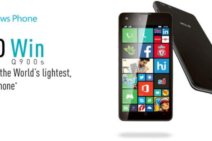 هاتف Xolo اخف هاتف بنظام الويندوز فون 8.1