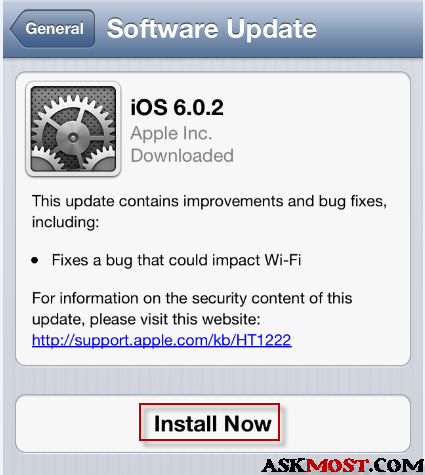 update ios 6.0.2 -3