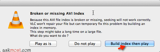 broken or missing avi index-19
