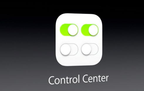 control center ios 7