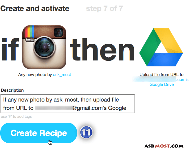 backup instagram photos to google drive-7