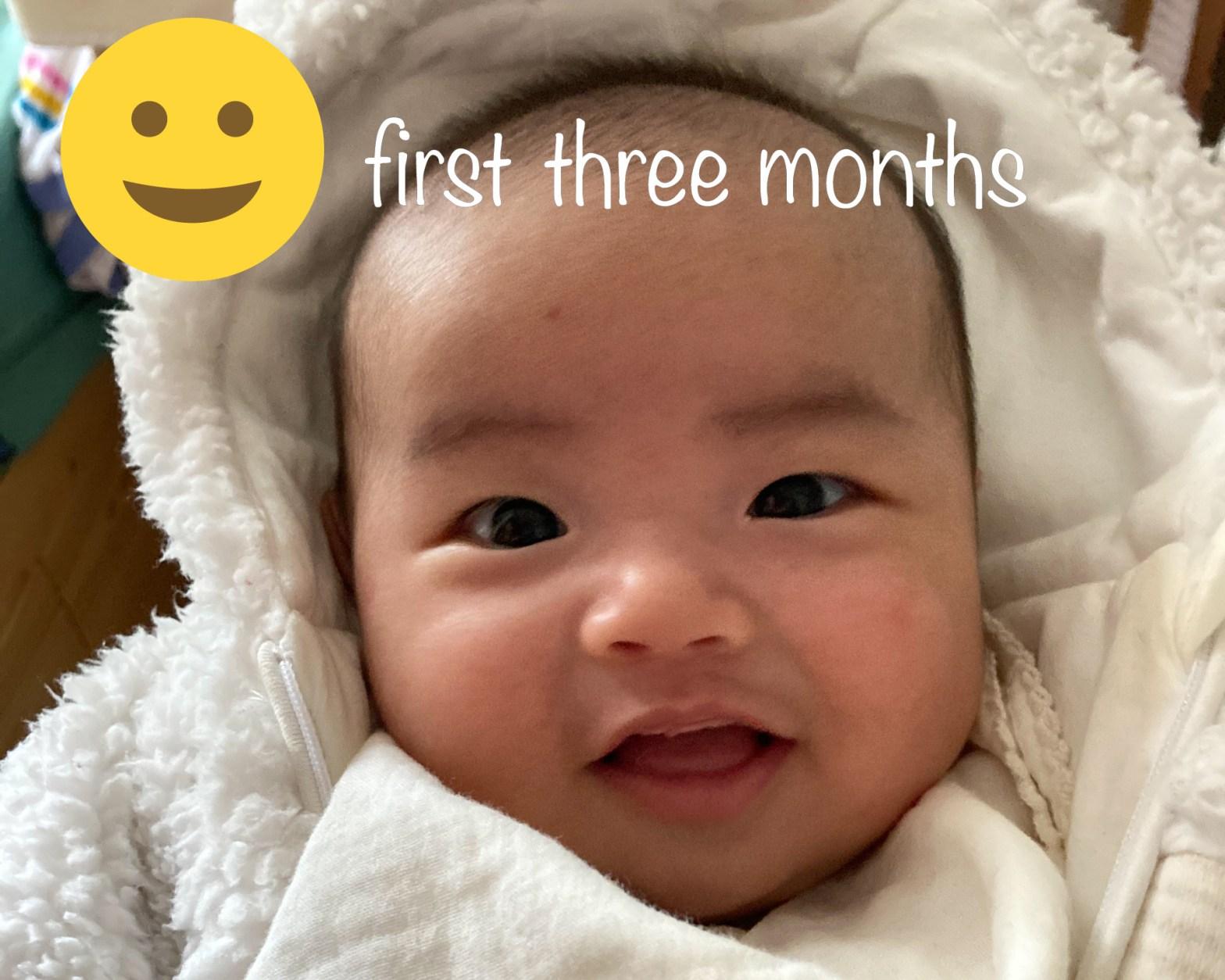 新手爸爸三個月的心得和分享