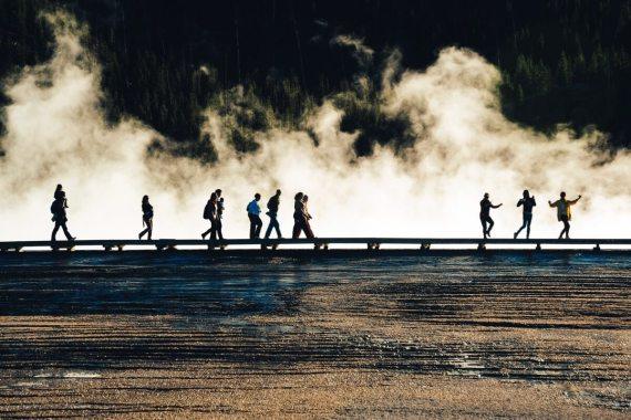 Geyser Yellowstone National Park