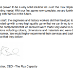 The Flux Capacity