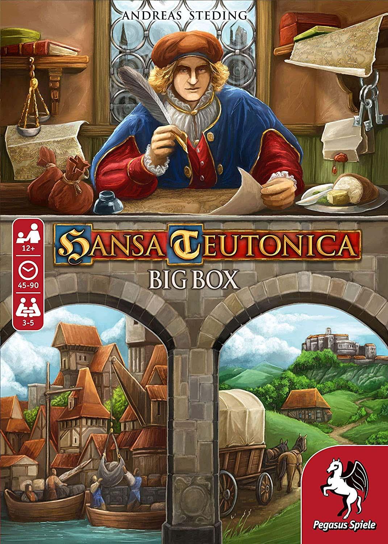 wingo games-board game maker-Hansa Tutonica