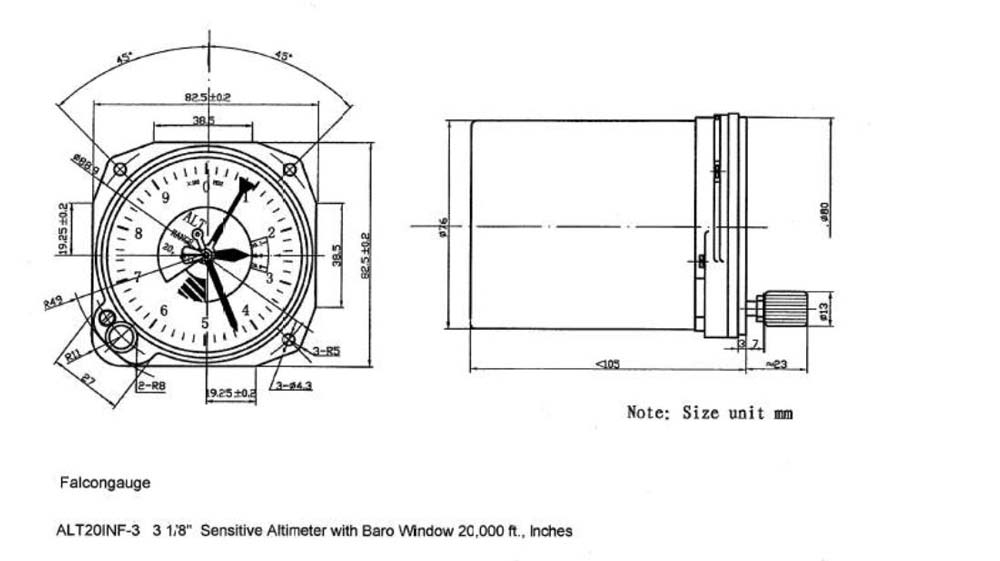 altimeter diagram general aviation