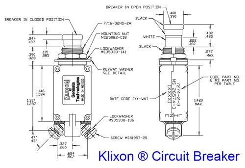 Aircraft Circuit Breaker Wiring Diagram