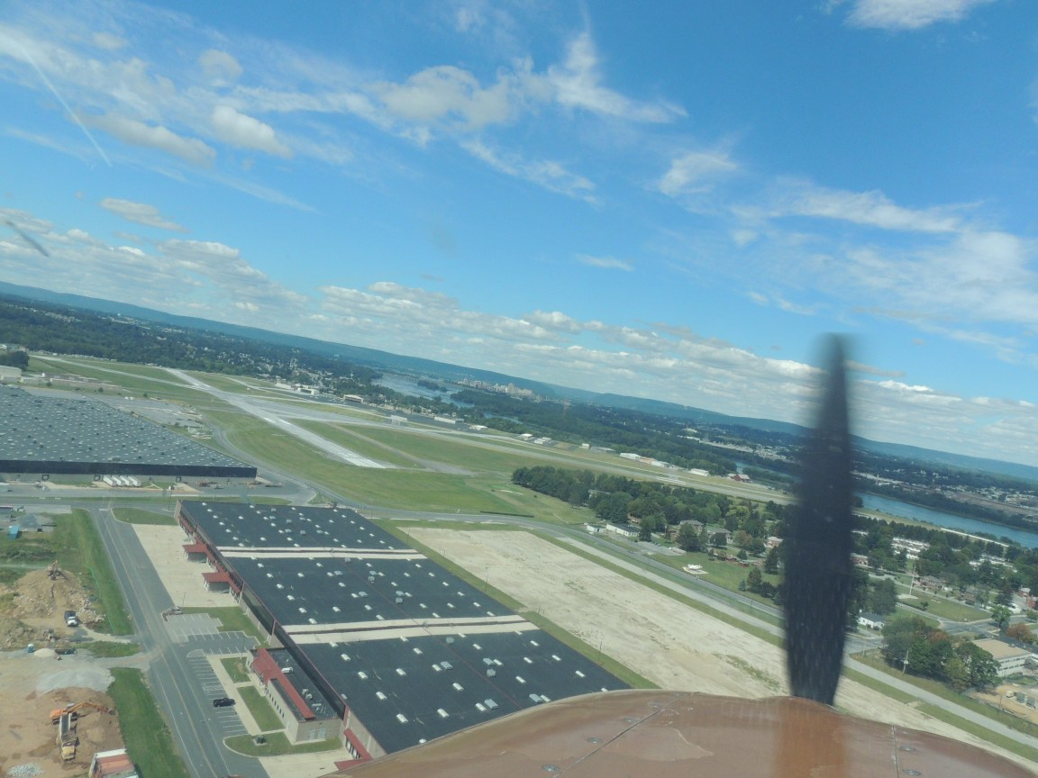 On approach to 30 at Harrisburg PA