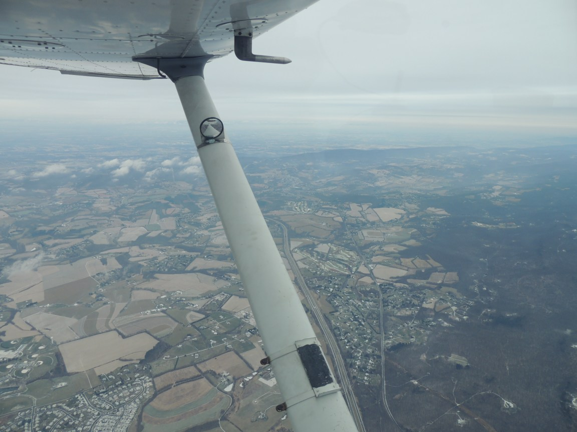 Heading to Bedford MA (Angel Flight 12/11/16)