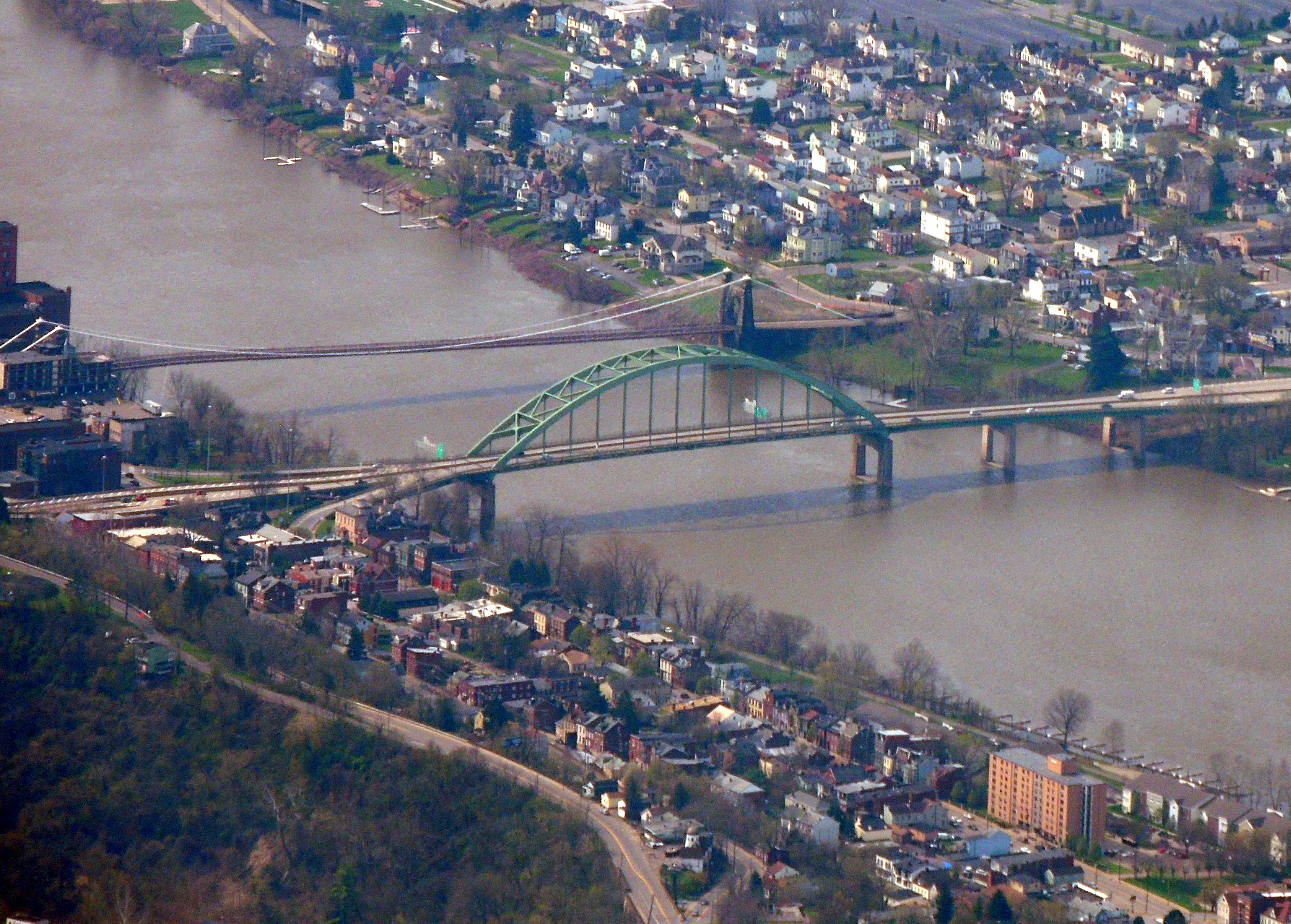Bridges at Wheeling WVa
