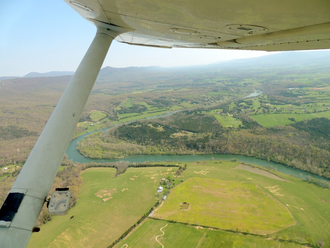 Departing Luray Virginia